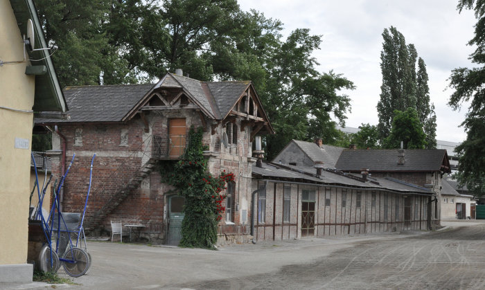 Foto Current situation of the stables © Architekten Tillner & Willinger