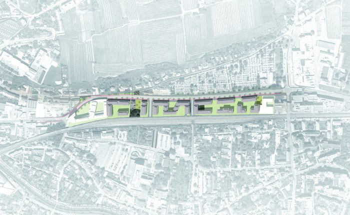 Site plan • © Architekten Tillner & Willinger