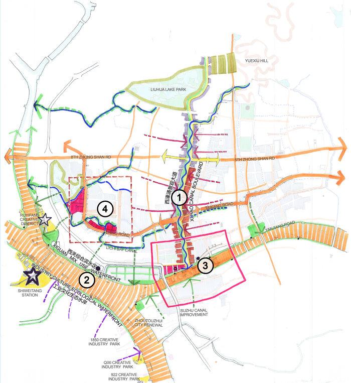 Planning Area • UPAT Guangzhou